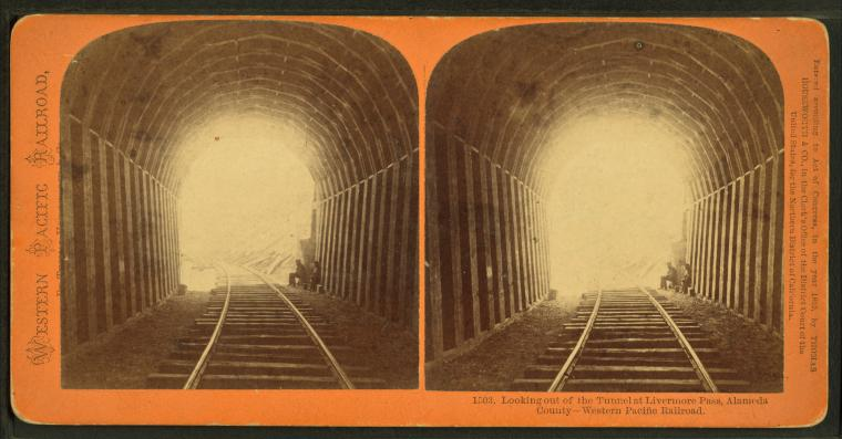 This is What Central Pacific Railroad Company Looked Like