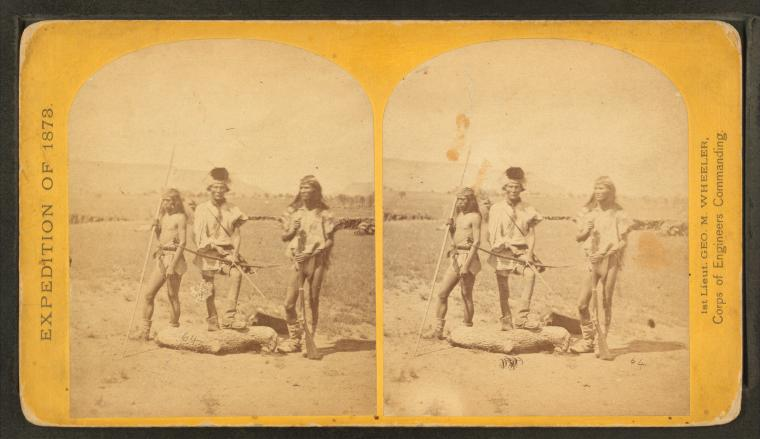 Fascinating Historical Picture of Geographical Surveys West of the 100th Meridian in 1873
