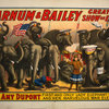 Barnum & Bailey greatest show on earth circus poster
