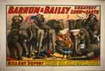 Barnum & Bailey greatest show on earth circus poster