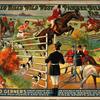Buffalo Bill's wild west [and] Pawnee Bill'e far east poster