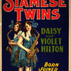 San Antonio's Siamese Twins, Daisy and Violet Hilton, poster
