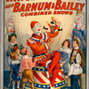 Ringling Bros and Barnum & Bailey combined shows circus poster