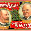 The Barnum Bailey greatest show on earth circus poster