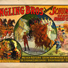 Ringling Bros presenting Schuman's German horse circus poster