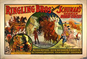 Ringling Bros presenting Schum... Digital ID: G98F980. New York Public Library