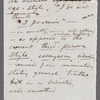 Holograph notes for lectures and poems; 12 notes written on 14 pieces paper, unsigned, undated