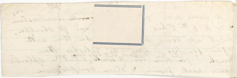 This is What Walt Whitman and [Ms. leaf verso] Looked Like  on 9/1863
