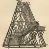 Sir William Herschel's forty-foot telescope at slough.
