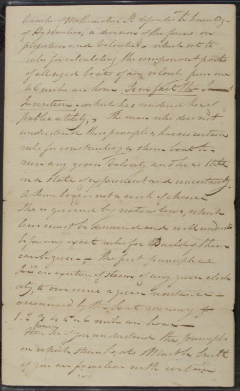 This is What Robert Fulton and 1808 Dec. 6 AL Robert Fulton to John Stevens Looked Like  in 1790