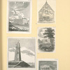 [Various buildings and a lighthouse.]