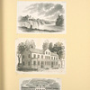 [Various buildings and a waterfall.]