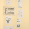 [Schematic drawings and illustrations of human anatomy.]