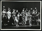 Juanita Hall (Madam Liang) and cast in Flower Drum Song