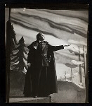 Maurice Evans in the stage production Hamlet