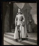 Unidentified actor in the stage production Hamlet