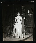 Unidentified actress in the stage production Hamlet