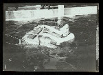 Harry Houdini in the water