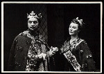 Maurice Evans and Judith Anderson in the stage production Macbeth