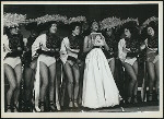 Helena Scott (Lily) and dancers in Me and Juliet