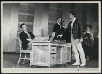 Robert Maxwell (Charlie Clay), Bob Fortier (Jim) and cast in Me and Juliet