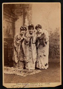 The Mikado (Gilbert And Sulliv... Digital ID: TH-36017. New York Public Library