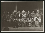 Cast of the 1954 revival of On Your Toes