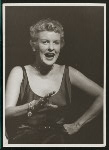 Elaine Stritch (Peggy Porterfield) in the 1954 revival of On Your Toes