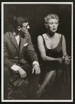 Bobby Van (Phil Dolan III) and Elaine Stritch (Peggy Porterfield) in the 1954 revival of On Your Toes