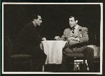 Gene Kelly (Joey Evans) and Jack Durant (Ludlow Lowell) in Pal Joey