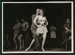 Gene Kelly (Joey Evans) and chorus girl  in Pal Joey