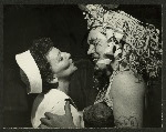Mary Martin (Nellie Forbush) and Myron McCormick (Luther Billis) in South Pacific