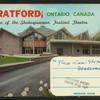 Stratford, Ontario, Canada. Home of the Shakespearean Festival Theatre.