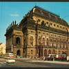 Theatres -- Czechoslovakia -- Prague Narodni