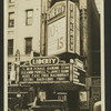 Exterior view of the Liberty Theatre