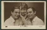 "Mistinguett in ""Paris-Miss"" with the Rocky Twins"