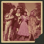 Unidentified actors from a production of The Wizard of Oz.
