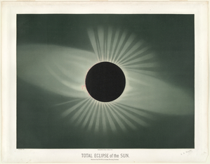 Total eclipse of the sun. Obse... Digital ID: TROUVELOT_003. New York Public Library