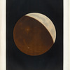 Partial eclipse of the moon: Observed October 24, 1874