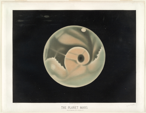 The planet Mars. Observed Sept... Digital ID: TROUVELOT_008. New York Public Library