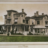 Nuits. Residence of F. Cottenet, built of Caen stone. -- near Dobbsferry [Dobbs Ferry].