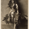 Gertrude Hoffmann in feathered costume
