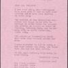Letter of Elizabeth Ames to James Baldwin, February 9, 1955