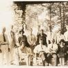 Group Photograph, 1928, at Triuna: G. F. Peabody 2nd from left