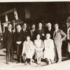 Group Photograph, 1931, indoors, Cowley at left