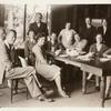 Group Photograph at Triuna, 1931. Seated, right to left: Unidentifed woman, Elizabeth Ames, Aaron Copland. Others unidentified