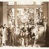 1928 Group Photograph. Standing left to right: Stanley Kunitz, Elizabeth Sparhawk-Jones, Carolyn Cox, Hatcher Hughes, Granville English, Elizabeth Ames, Carl Schmitt, Paul Reno, Jeanette Garrett, Edgar White Burrill. Seated: Helen Pierce, Dorothy Kreymborg, Alfred Kreymborg.