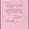 Pauline Hanson. Carbon copy of letter to James Baldwin with handwritten emendations, April 10, 1959