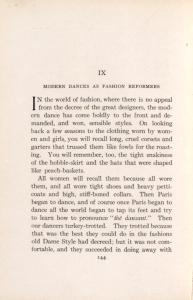 Modern dances as fashion reformers / by Mr. an Mrs. Vernon Castle.