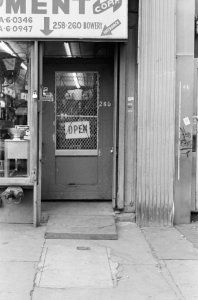 Bowery between Prince Street and East Houston Street even numbers